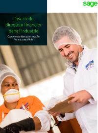 Couverture livre blanc L'avenir du directeur financier dans l'industrie