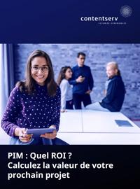 Couverture livre blanc PIM : Comment mieux mesurer le retour sur investissement ?