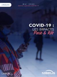 Couverture livre blanc COVID-19 : les impacts Paie & RH