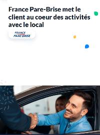 Couverture livre blanc Cas client : France Pare-Brise met le client au coeur des activités avec le local
