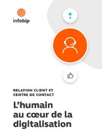 Couverture Relation client et centre de contact : L'humain au cœur de la digitalisation