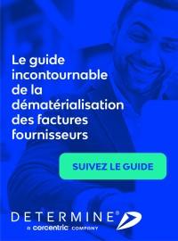 Couverture livre blanc Le guide incontournable de la dématérialisation des factures fournisseurs