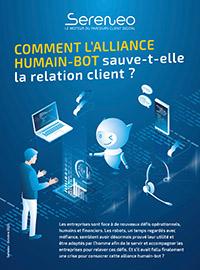 Couverture Comment l'alliance Humain/Bot sauve-t-elle la relation client ?