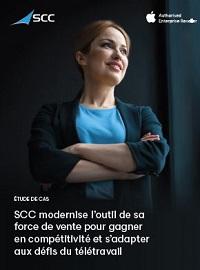 Couverture livre blanc Etude de cas: SCC modernise l'outil de sa force de vente pour gagner en compétitivité et s'adapter aux défis du télétravail