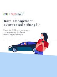 Couverture Les tendances en matière de transport terrestre chez les voyageurs d'affaires européens