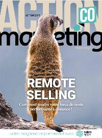 Couverture Remote Selling : comment rendre votre force de vente performante à distance ?