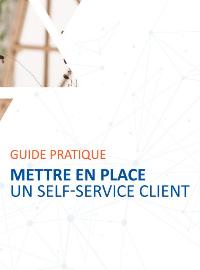 Couverture livre blanc Mettre en place un self-service client