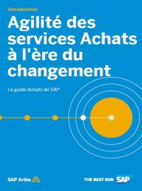 Couverture livre blanc Le guide Achats de SAP : Agilité des services Achats à l'ère du changement