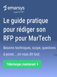 Couverture livre blanc 5 bonnes pratiques pour rédiger son appel d'offres pour des MarTech