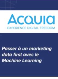 Couverture livre blanc Passer à un marketing data first avec le machine learning