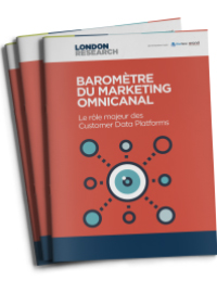 Couverture livre blanc Baromètre du marketing omnicanal : Le rôle majeur des Customer Data Platforms