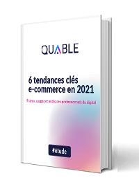 Couverture 6 tendances clés e-commerce en 2021