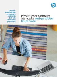 Couverture livre blanc Préparer les collaborateurs à la réussite, quel que soit leur  lieu de travail