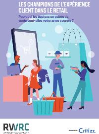 Couverture livre blanc Les champions de l'expérience client dans le retail