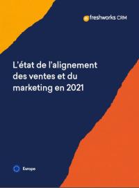 Couverture L'état de l'alignement des ventes et du marketing en 2021