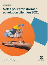 Couverture livre blanc Retail agile : 6 clés pour transformer sa relation client en 2021
