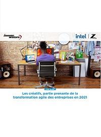 Couverture livre blanc Les créatifs, partie prenante de la transformation agile des entreprises en 2021