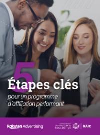 Couverture livre blanc 5 étapes clés pour un programme d'affiliation performant