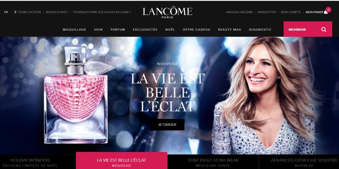 La refonte des sites Lancôme, une réussite à échelle mondiale