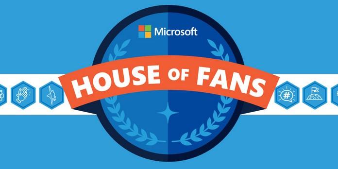 House Of Fans, le nouveau programme ambassadeurs de Microsoft