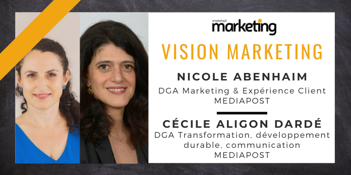 VISION MARKETING AVEC ... Nicole ABENHAIM & Cécile ALIGON DARDE