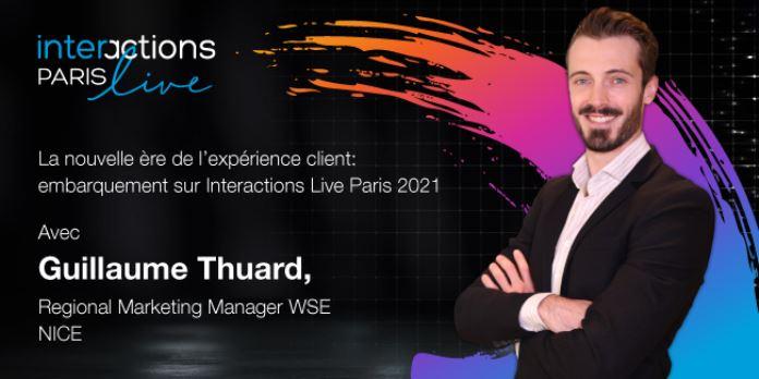 NICE Interactions Live Paris 2021 : Embarquement immédiat pour une nouvelle ère de l'expérience client