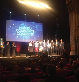 Kimple, lauréat de la Nuit du Commerce Connecté2017.