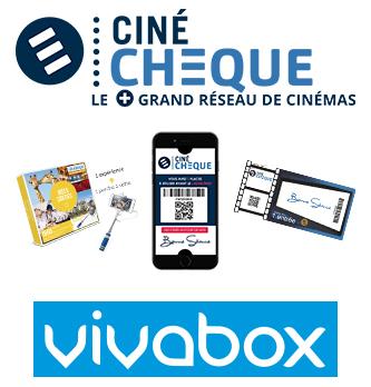 Le Groupe CinéChèque s'allie à Vivabox