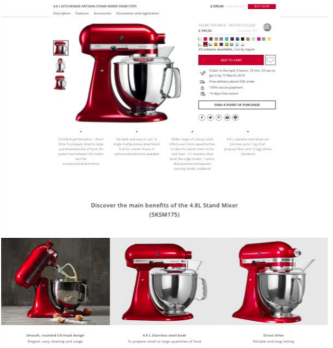 KitchenAid : eZ, pour une meilleure expérience client