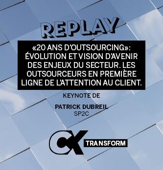 """[REPLAY] """"20 ans d'outsourcing"""": évolution et vision d'avenir des enjeux du secteur."""