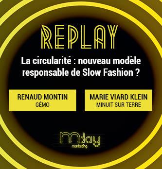 [Replay] La circularité : nouveau modèle responsable de Slow Fashion ?
