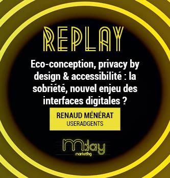 [Replay] Eco-conception, privacy by design & accessibilité : la sobriété, nouvel enjeu des interfaces digitales ?