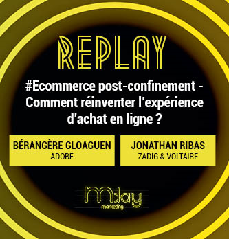 [Replay] #Ecommerce post-confinement - Comment réinventer l'expérience d'achat en ligne ?