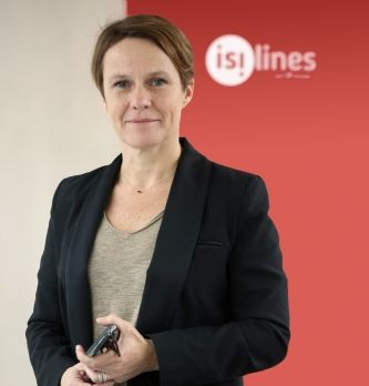 Angélique Mantel est nommée directrice marketing, communication, CRM et digital d'isilines