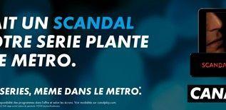 Quand CanalPlay se déplace en métro...