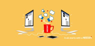 NESCAFÉ crée une expérience de marque engageante grâce au digital