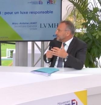 Quel avenir pour le luxe ? LVMH nous expose ces objectifs RSE avec Marc-Antoine Jamet Secrétaire Général