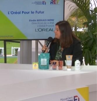 Quels sont les objectifs pour le futur de l'Oréal ? Réponse avec Elodie Bernadi Directrice de la RSE chez L'Oréal France