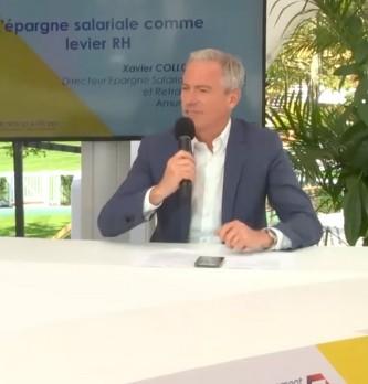 Quelle est la vision de Xavier Collot, Directeur Epargne Salariale et Retraite chez Amundi pour utiliser l'épargne salariale comme levier RH
