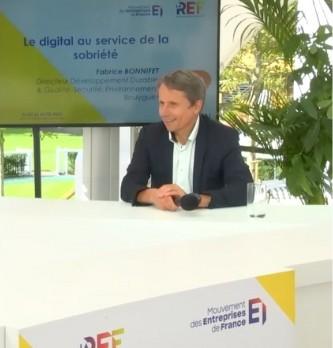 Fabrice Bonnifet, Directeur Développement Durable & Qualité, Sécurité, Environnement chez Bouygues nous explique comment le digital peut être au service de la sobriété