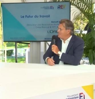 Quels sont les objectifs pour le futur de l'Oréal ? Réponse avec Benoît Serre Directeur des Ressources Humaines chez L'Oréal France