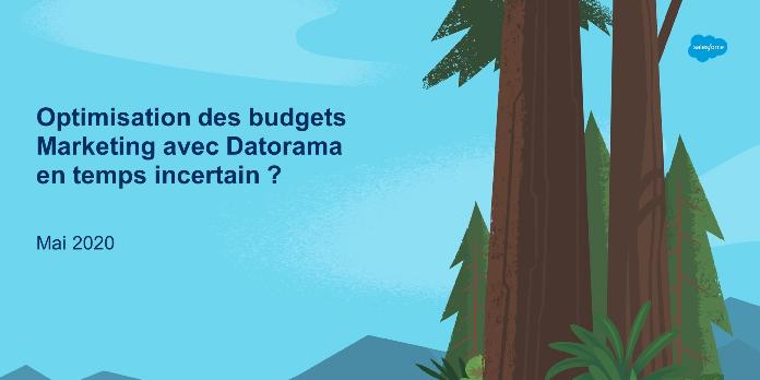 [Webinar] Optimisation des budgets Marketing avec Datorama en temps incertain ?