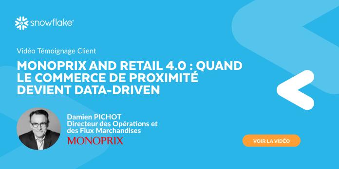 Monoprix and Retail 4.0 : Quand le commerce de proximité devient data-driven