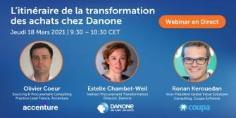 L'itinéraire de la transformation des achats chez Danone