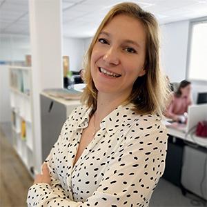 Camille George,<br/>rédactrice en chef